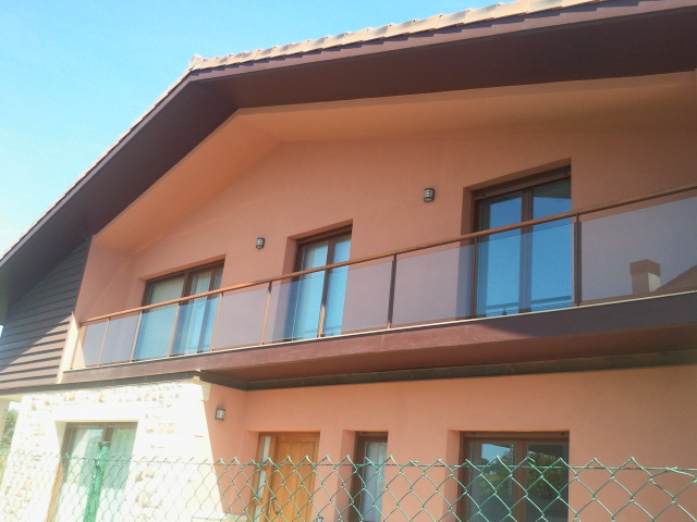Acero corten balcones